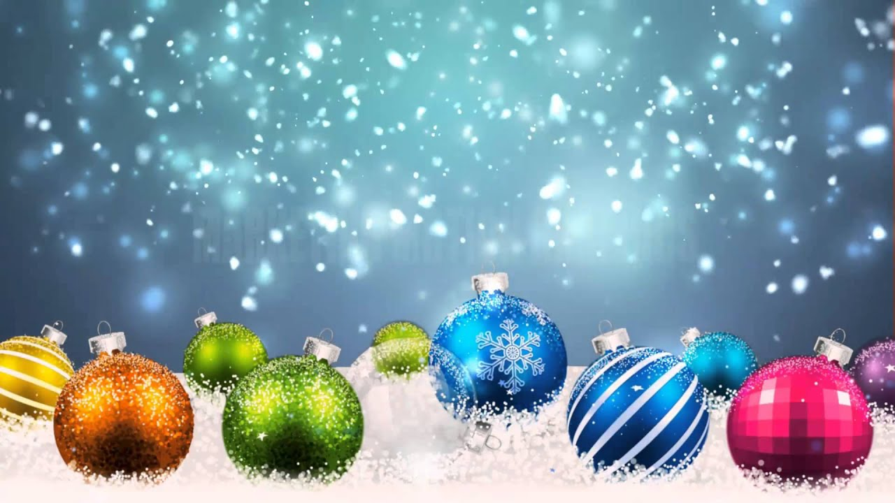 Winter Christmas Motion Backgrounds 1280x720