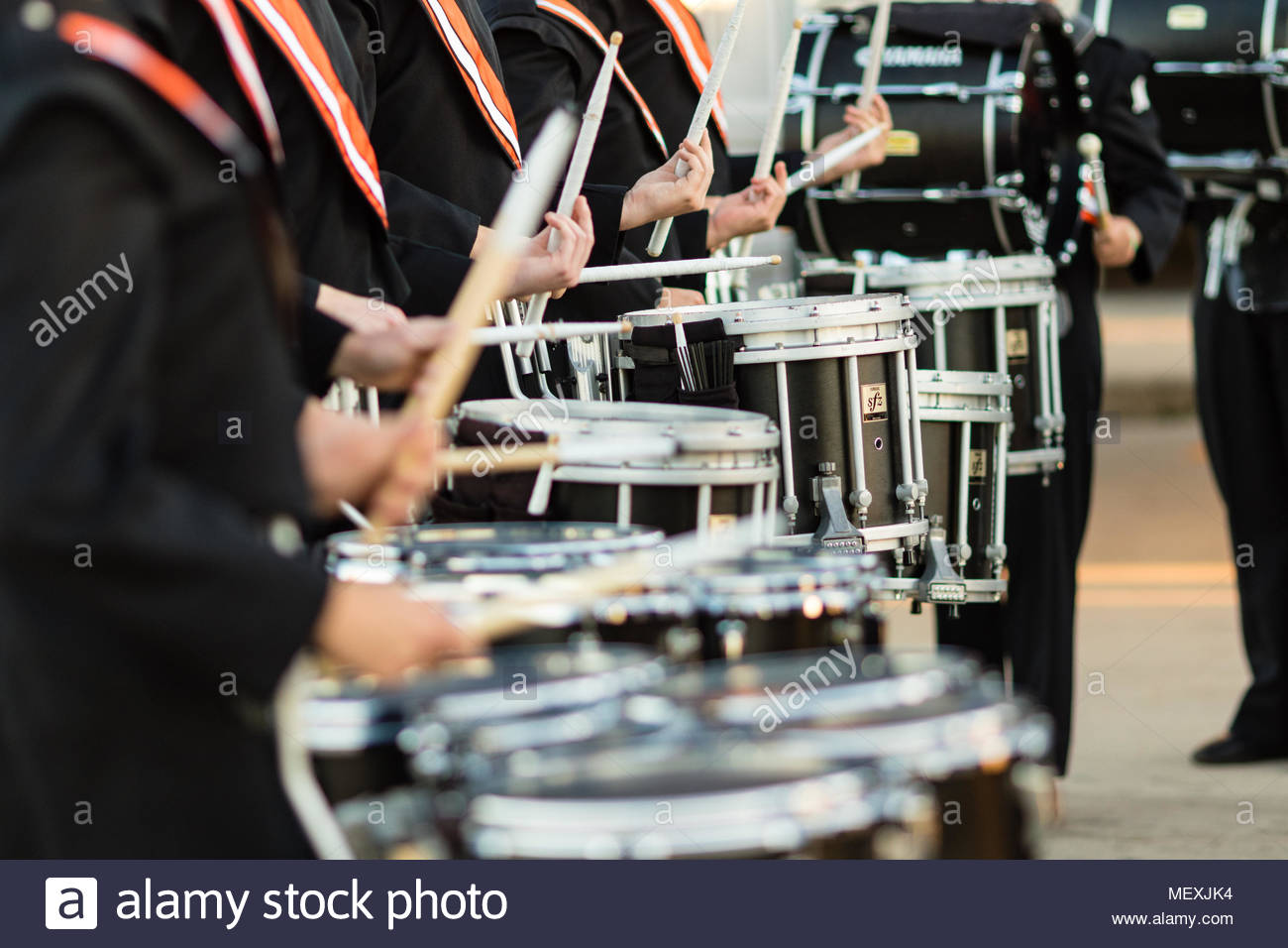 Drum Line Drummer Stock Photos Drum Line Drummer Stock Images 1300x956