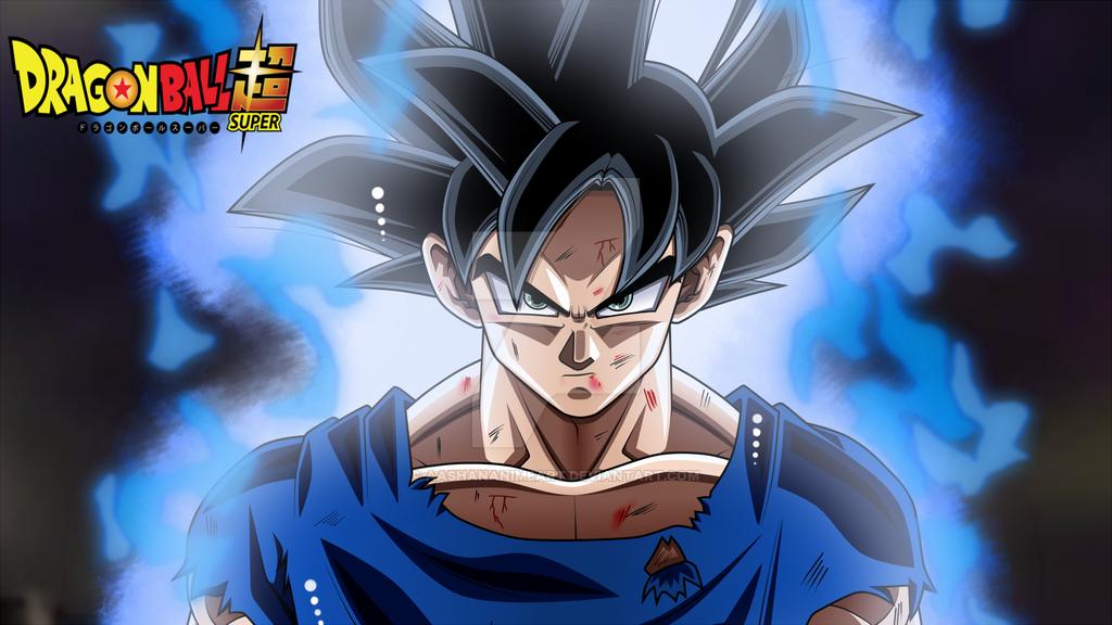 Goku Ultra Instinct Wallpaper by AashanAnimeArt 1024x576