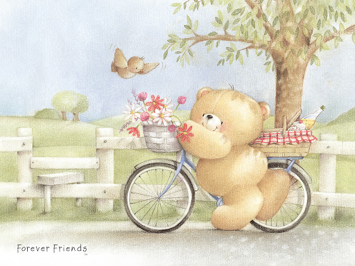 forever friends wallpaper British Summer Bike 1024x768jpg 512x384