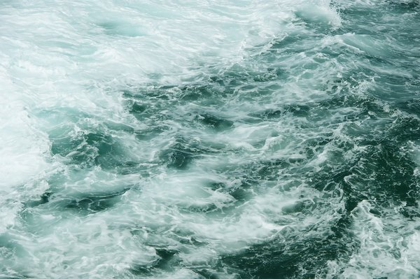 Moving Ocean Waves Background Wake texture background blue 600x399