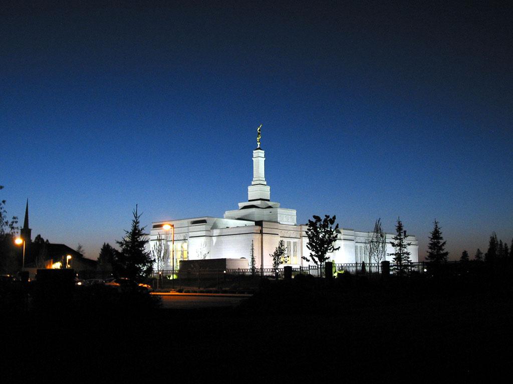 Spokane Mormon Temple Wallpaper HD Wallpapers 1024x768