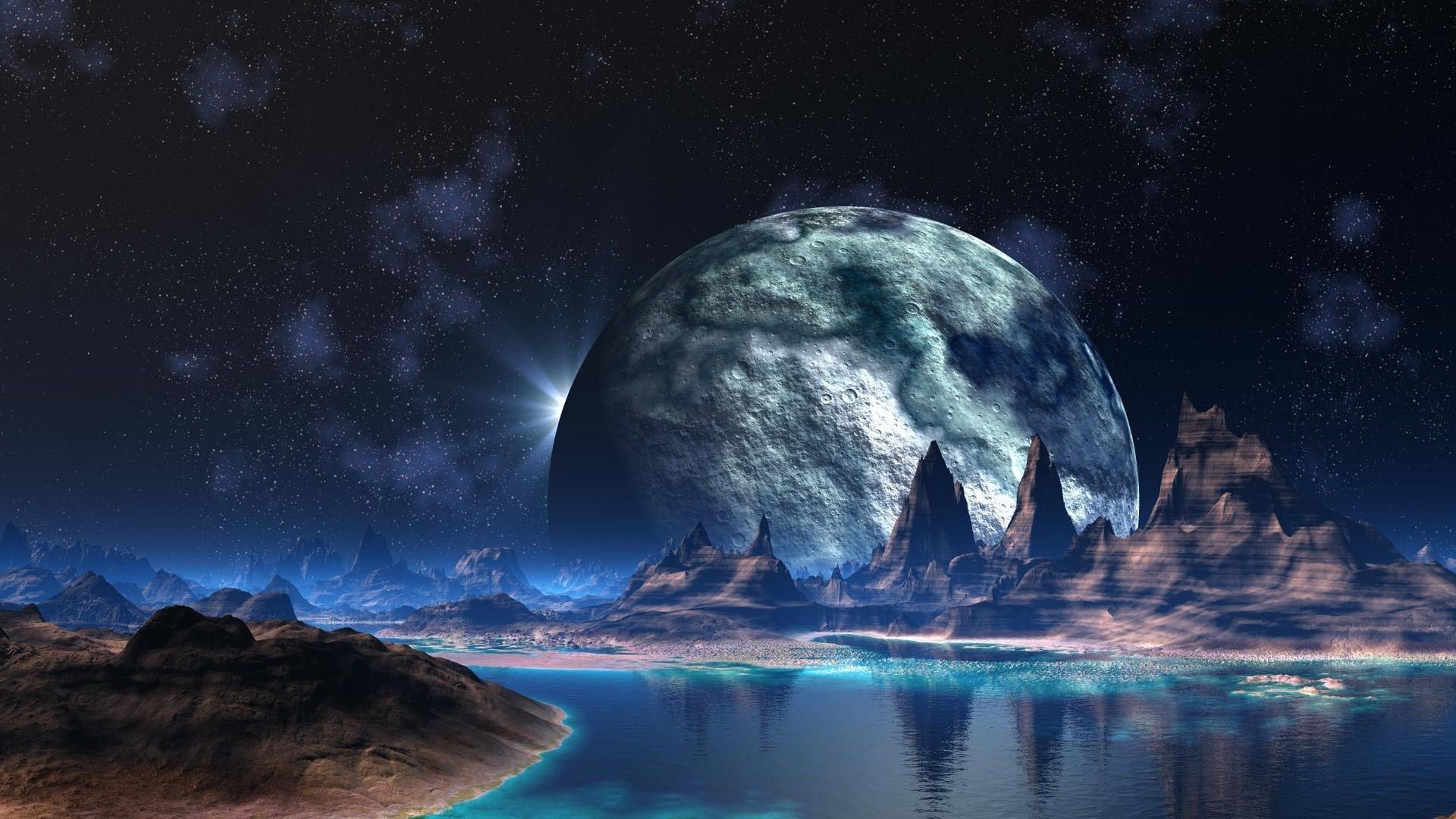 Alien World 3D Wallpaper   HQ Wallpapers download 100 high 1920x1080