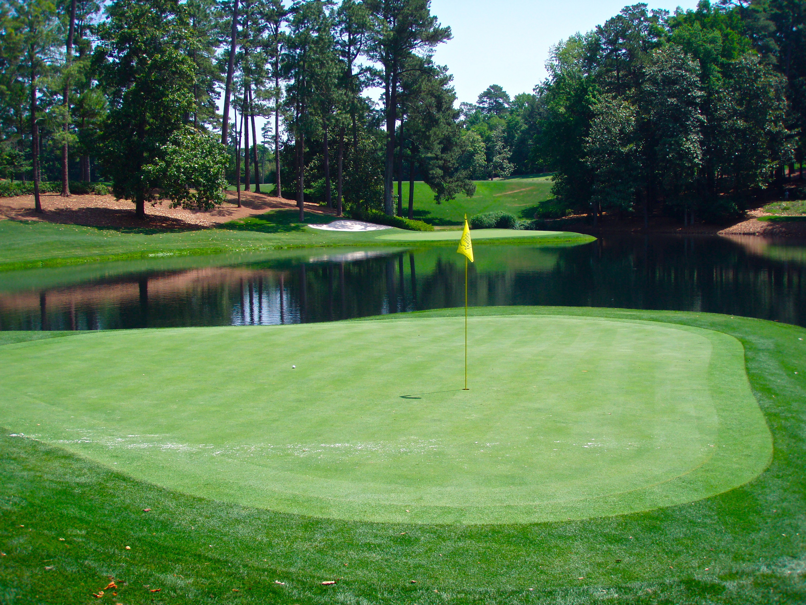 Augusta National Golf Course Wallpaper Dark Brown Hairs 3072x2304