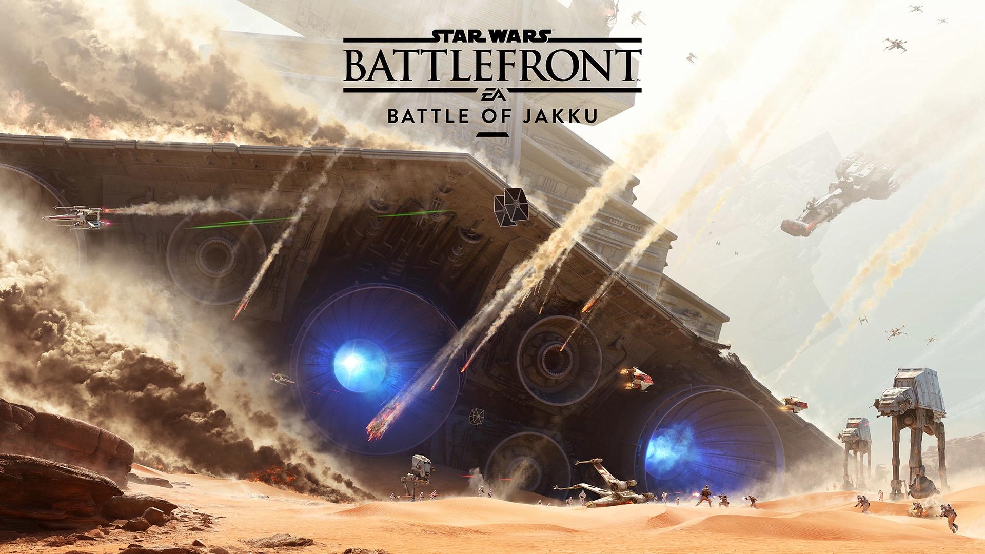Download wallpaper 1920x1080 star wars battlefront battle of 1920x1080