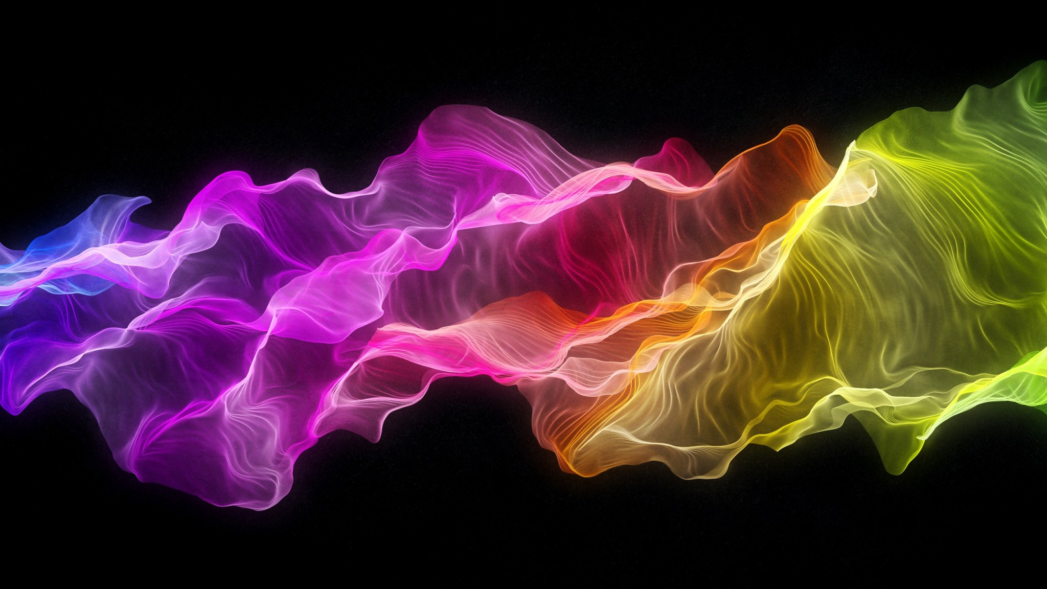 Colorful Flame widescreen wallpaper Wide WallpapersNET 2048x1152