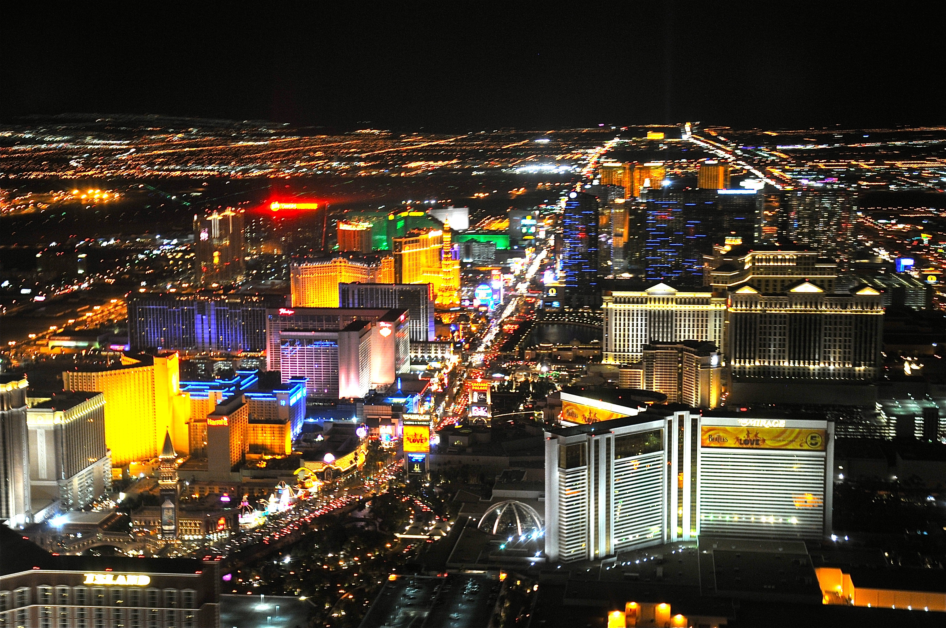 Amazing Las Vegas Strip in Country Nevada HD Photo HD Wallpapers 3954x2626
