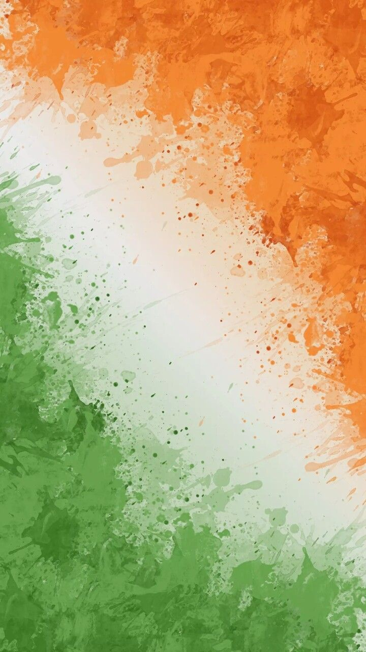 Indian tri colour flag symbol of Strength Peace and Prosperity in 720x1280