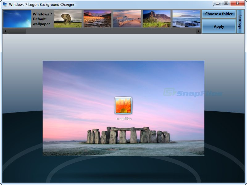 Free Download Windows 7 Logon Background Changer Allows You To