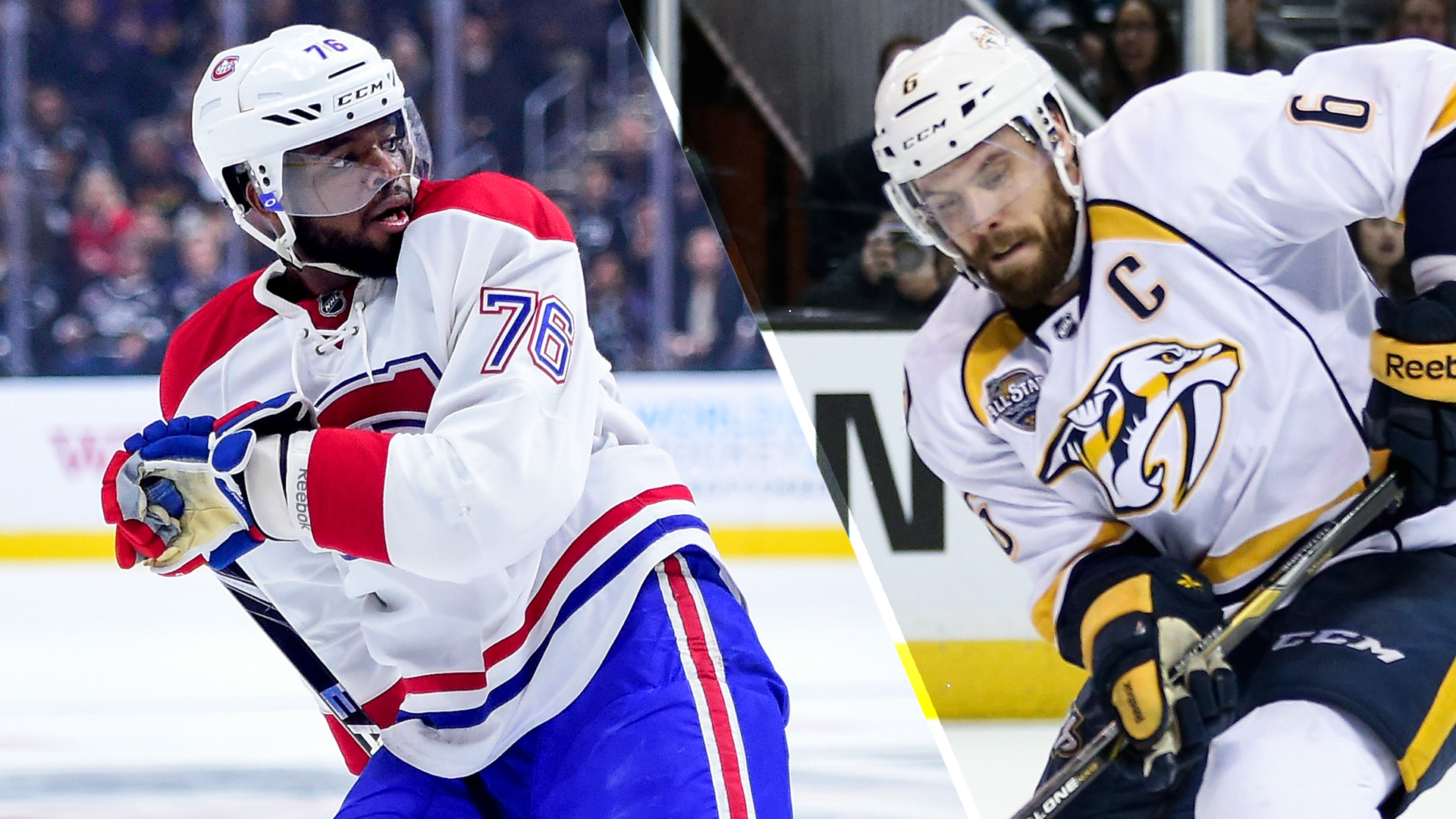 Canadiens trade PK Subban for Shea Weber Sporting News 1920x1080