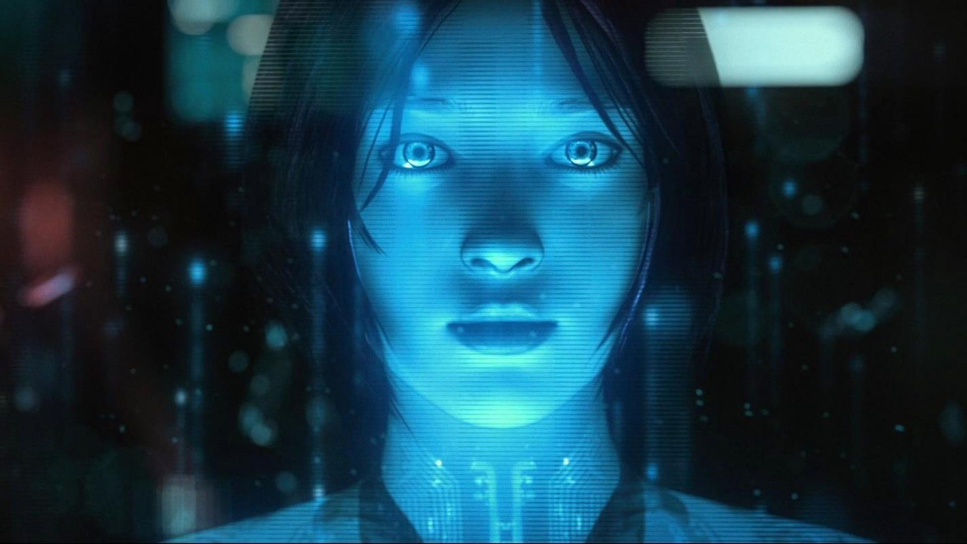 Halo 4   Cortana wallpaper 1920x1080