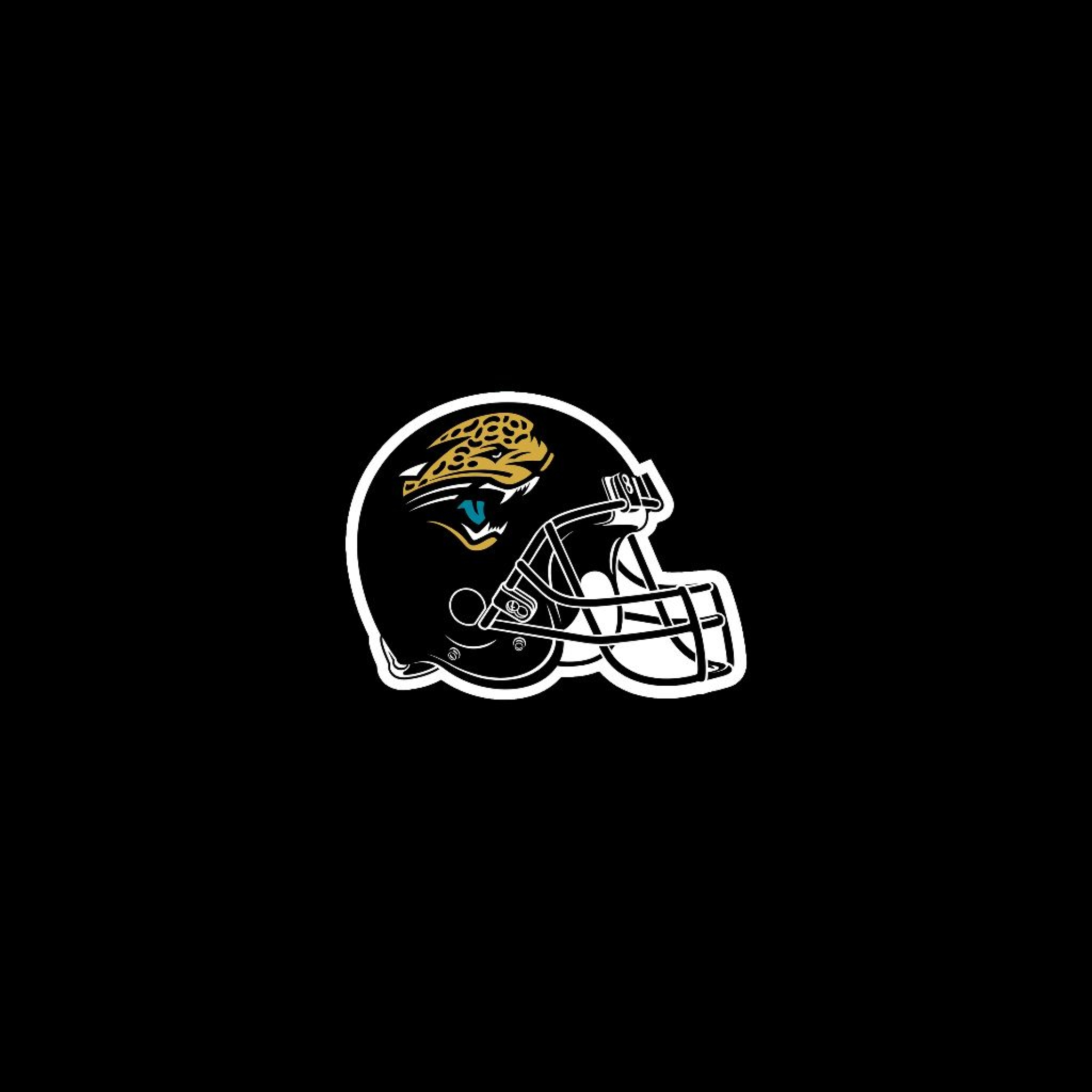 Jacksonville Jaguars Helm iPad 3 Wallpaper und iPad 4 Wallpaper 2048x2048