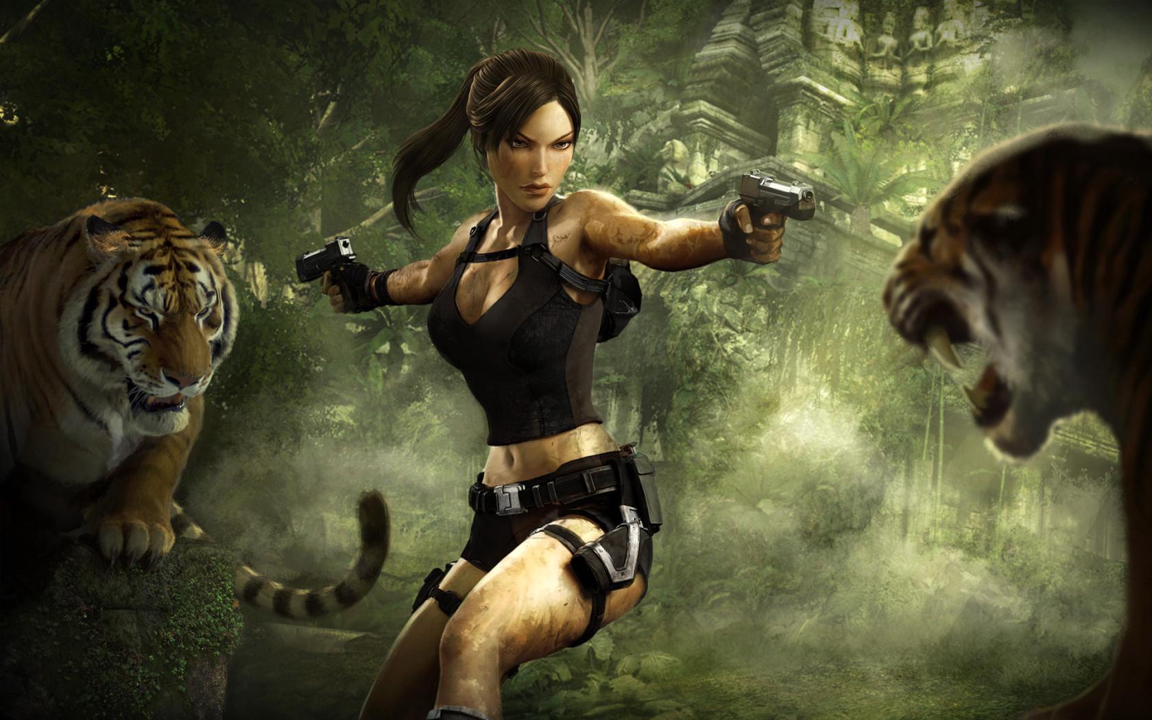 Free Download Lara Croft Tomb Raider Wallpaper 30982727 1680x1050