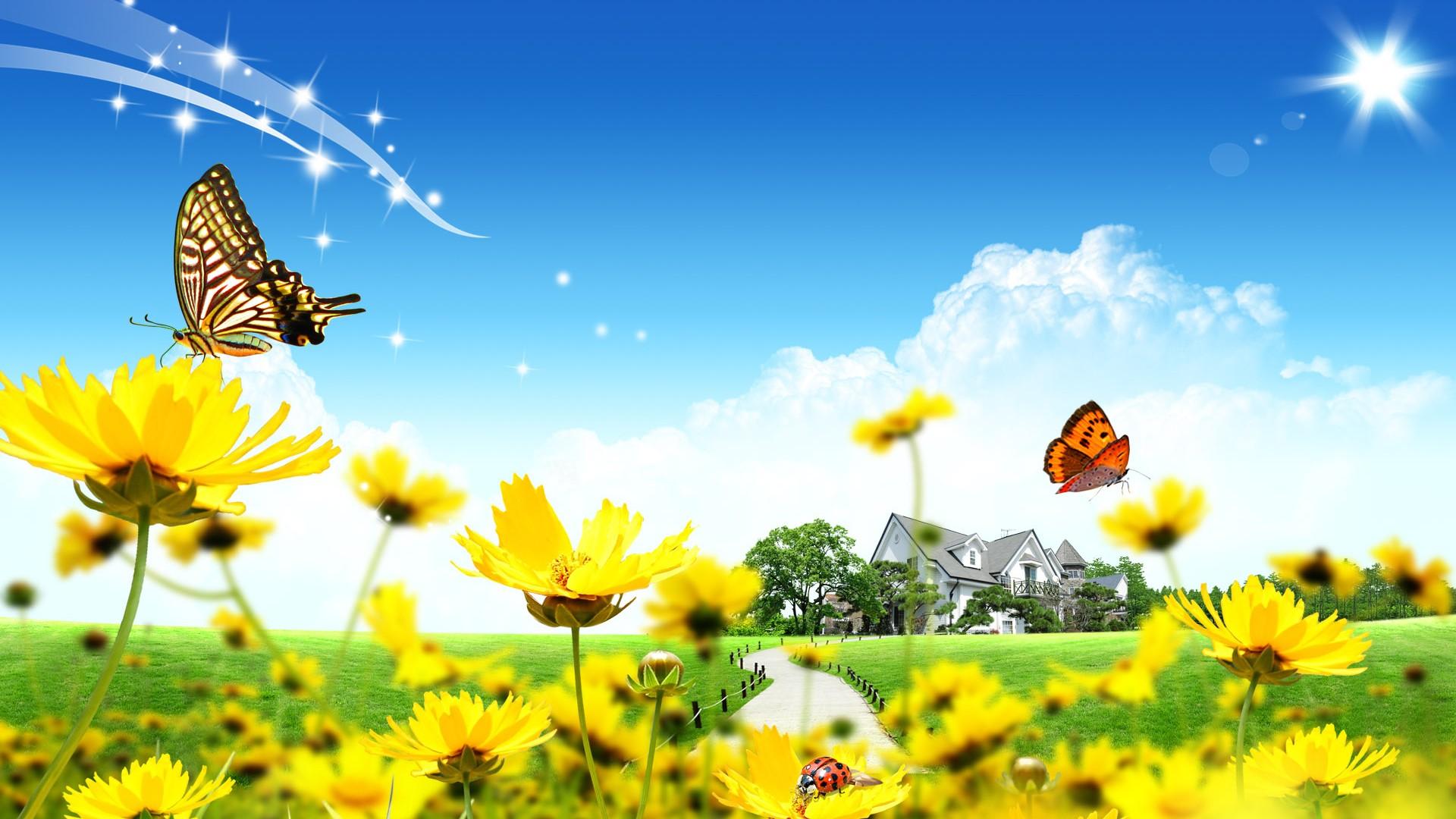 49 Windows Wallpaper Spring Themes On Wallpapersafari