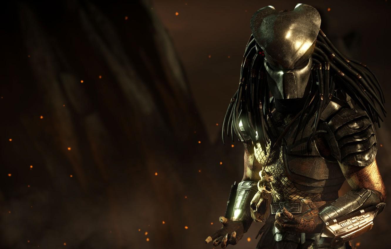 Wallpaper predator mask alien dreadlocks Predator DLC mask 1332x850
