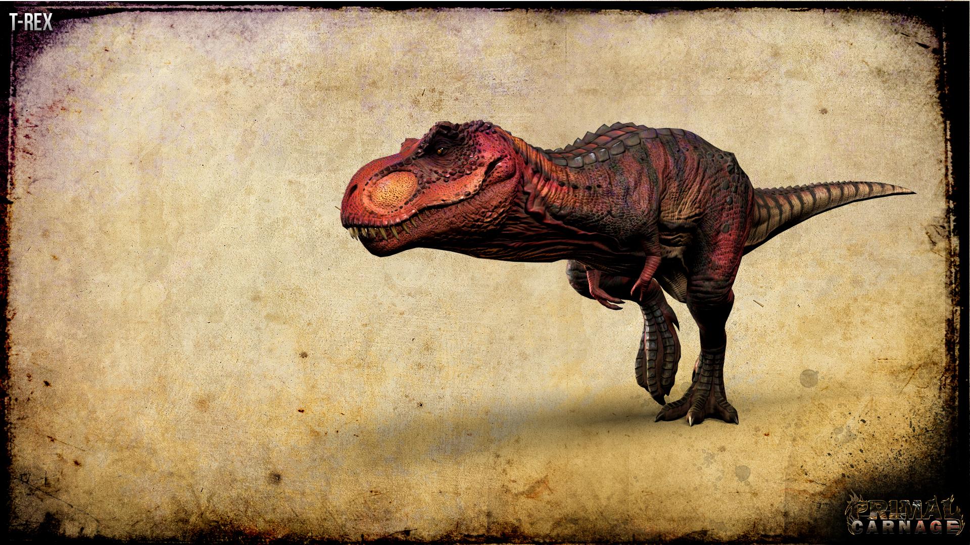 T Rex Wallpaper image   Primal Carnage   Mod DB 1920x1080