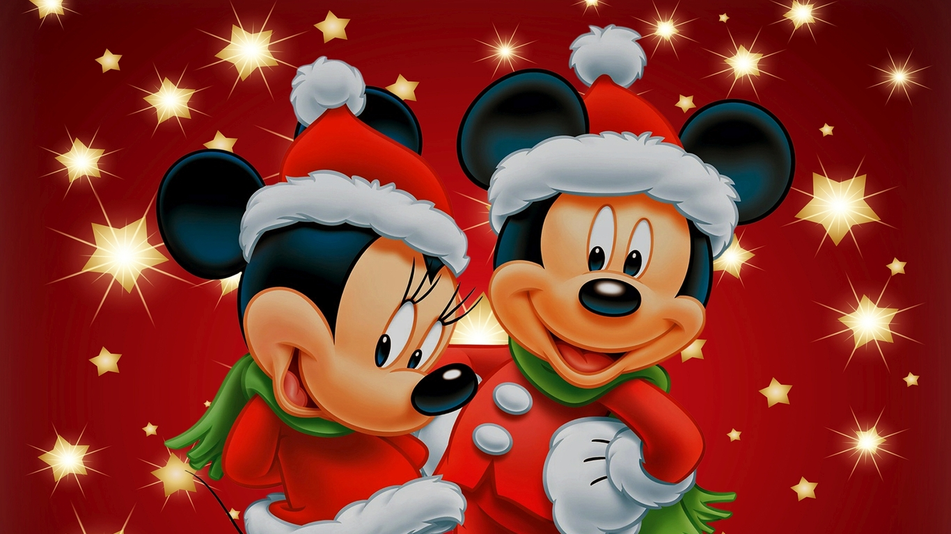 Free Download Mickey Mouse And Minnie Wallpaper 30344 1366x768