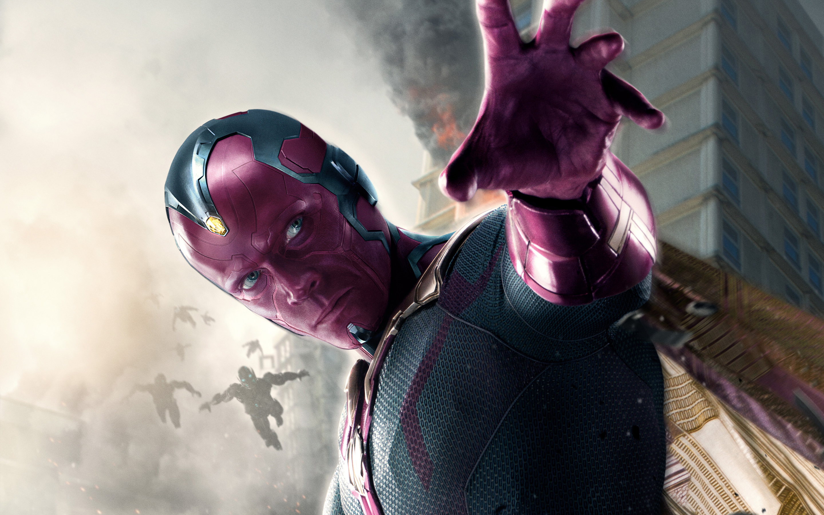 Vision in Avengers Age of Ultron by hdwallpapersin 2880x1800