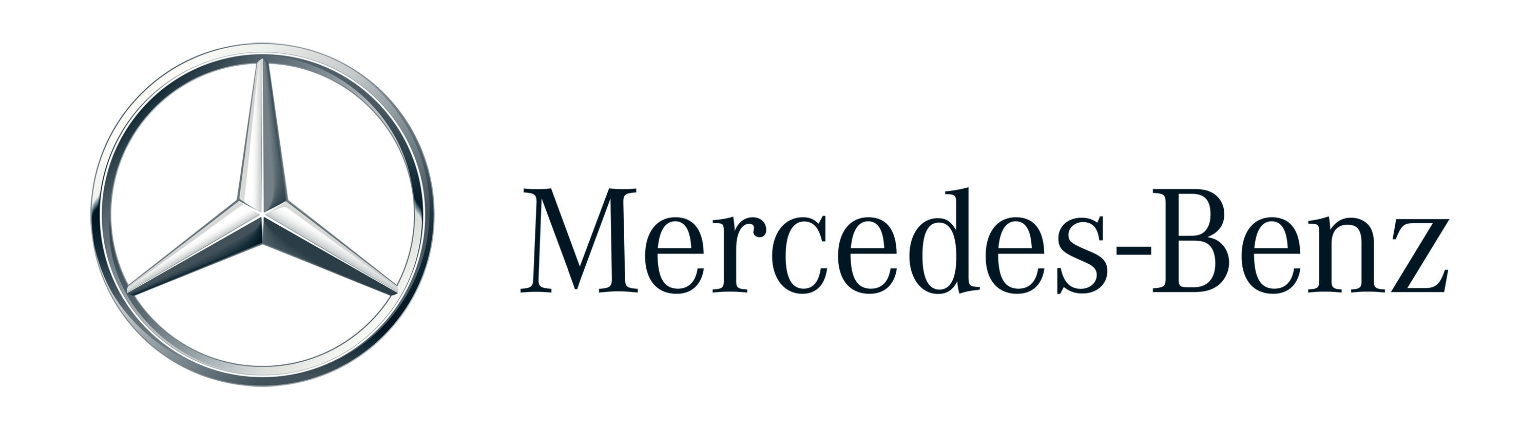 Mercedes Benz Logo Wallpapers Pictures Images 3000x838