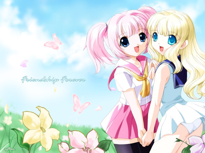 Free Download Friendship Forever Anime Girls Wallpapers 790x593 For Your Desktop Mobile Tablet Explore 95 Forever My Girl Wallpapers Forever My Girl Wallpapers Forever Wallpapers Forever Friends Wallpaper
