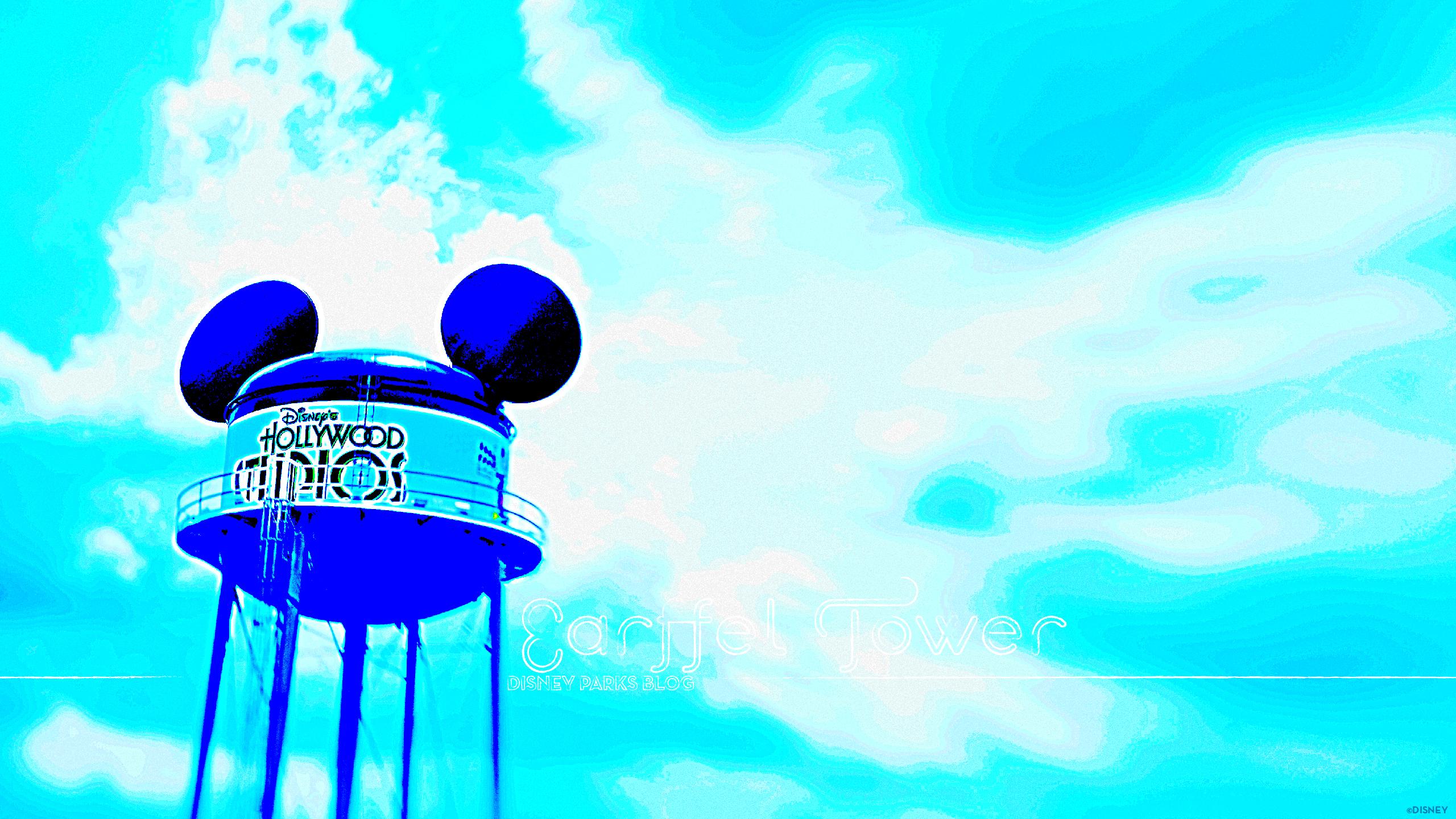 Earffel Tower at Disneys Hollywood Studios 2560x1440