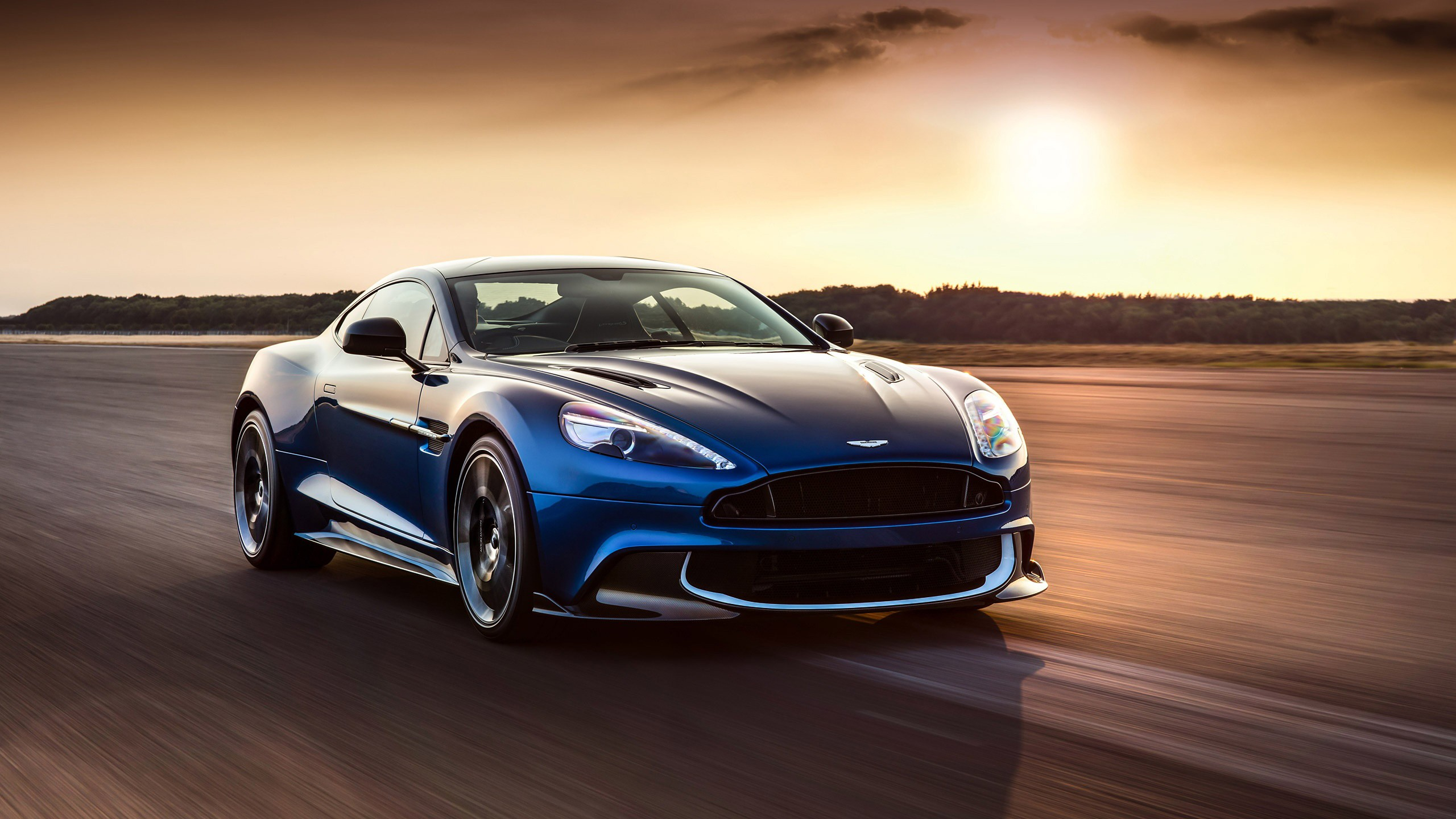 2017 Aston Martin Vanquish S Wallpaper HD Car Wallpapers ID 7170 2560x1440