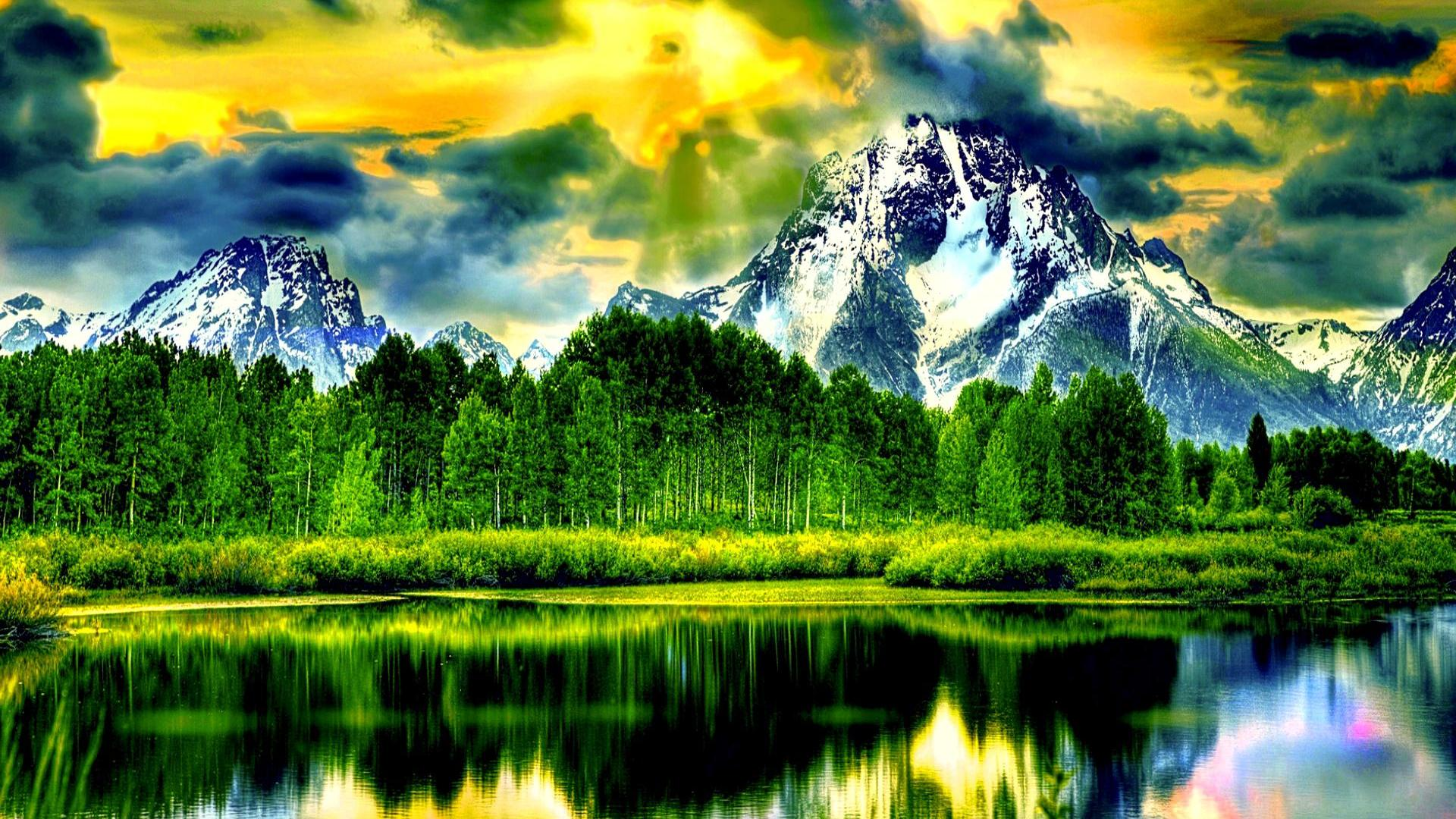 HDR Nature Background HD wallpaper 1689525 1920x1080
