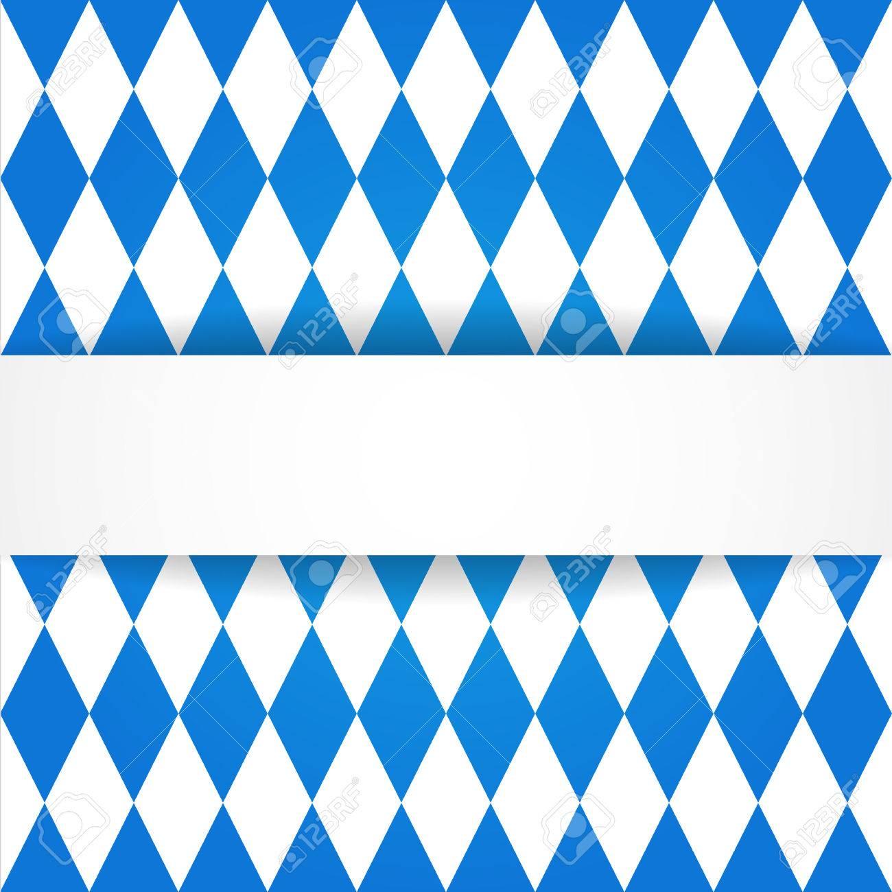 Oktoberfest Background Bavarian Flag Pattern Royalty 1300x1300
