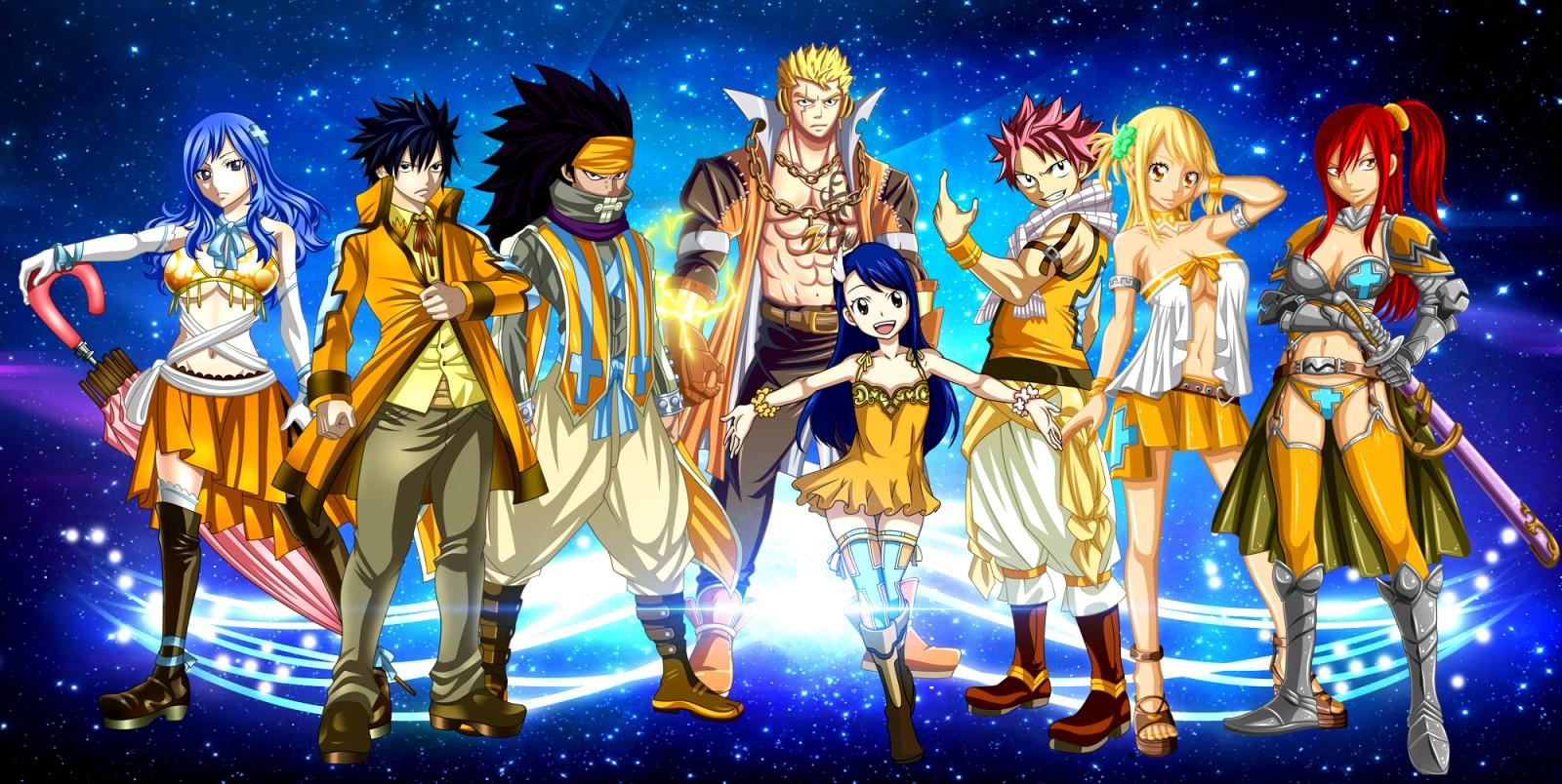 Download Fairy Tail Fantasia Hd Wallpaper Full HD Wallpapers 1600x804