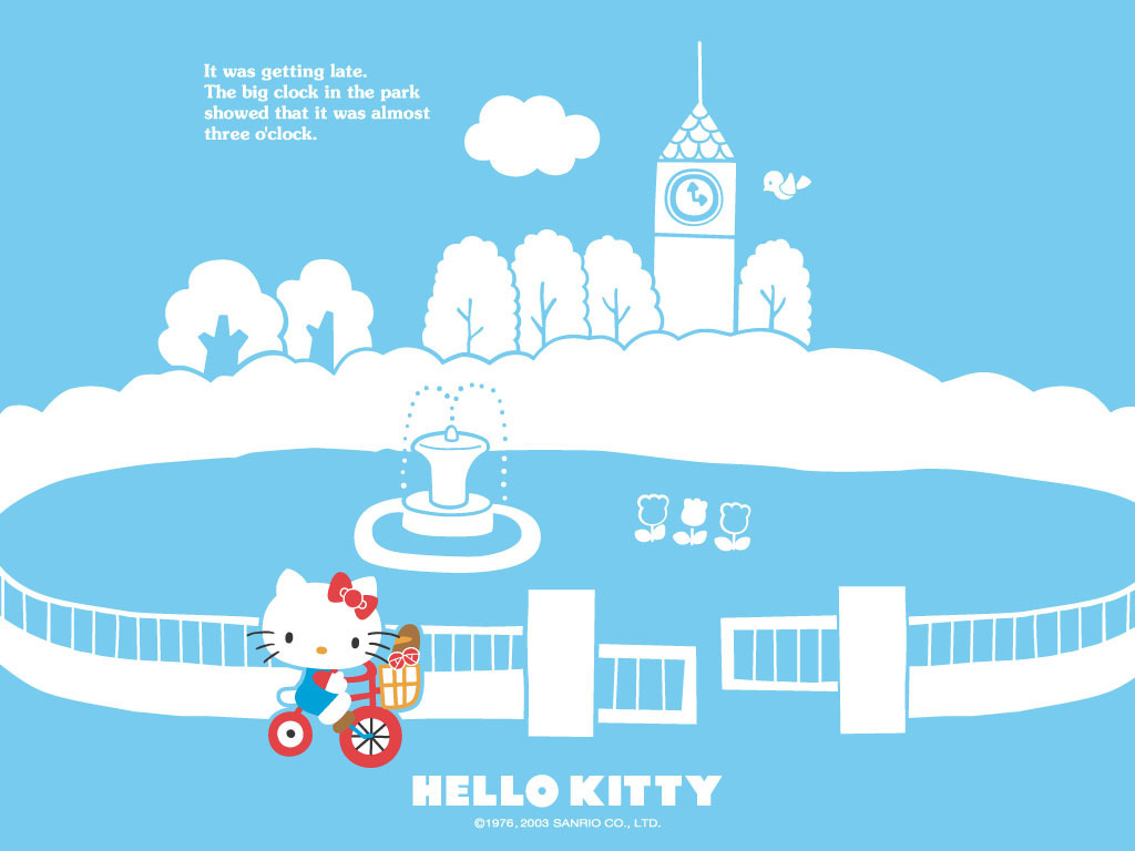 Hello Kitty   Hello Kitty Wallpaper 2359028 1024x768