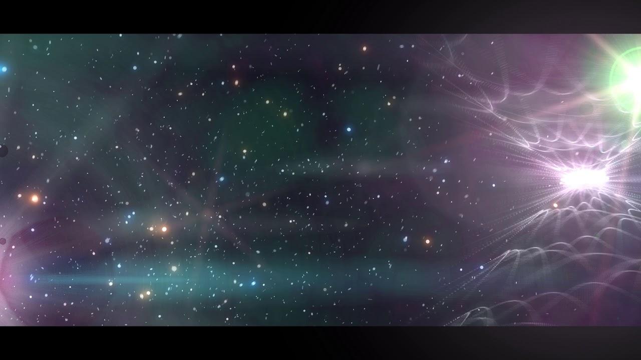 4K Backgrounds for Edits   Nebula Space Stars   2160p Lyric Video 1280x720