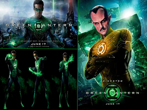 Green Lantern Desktop 500x375