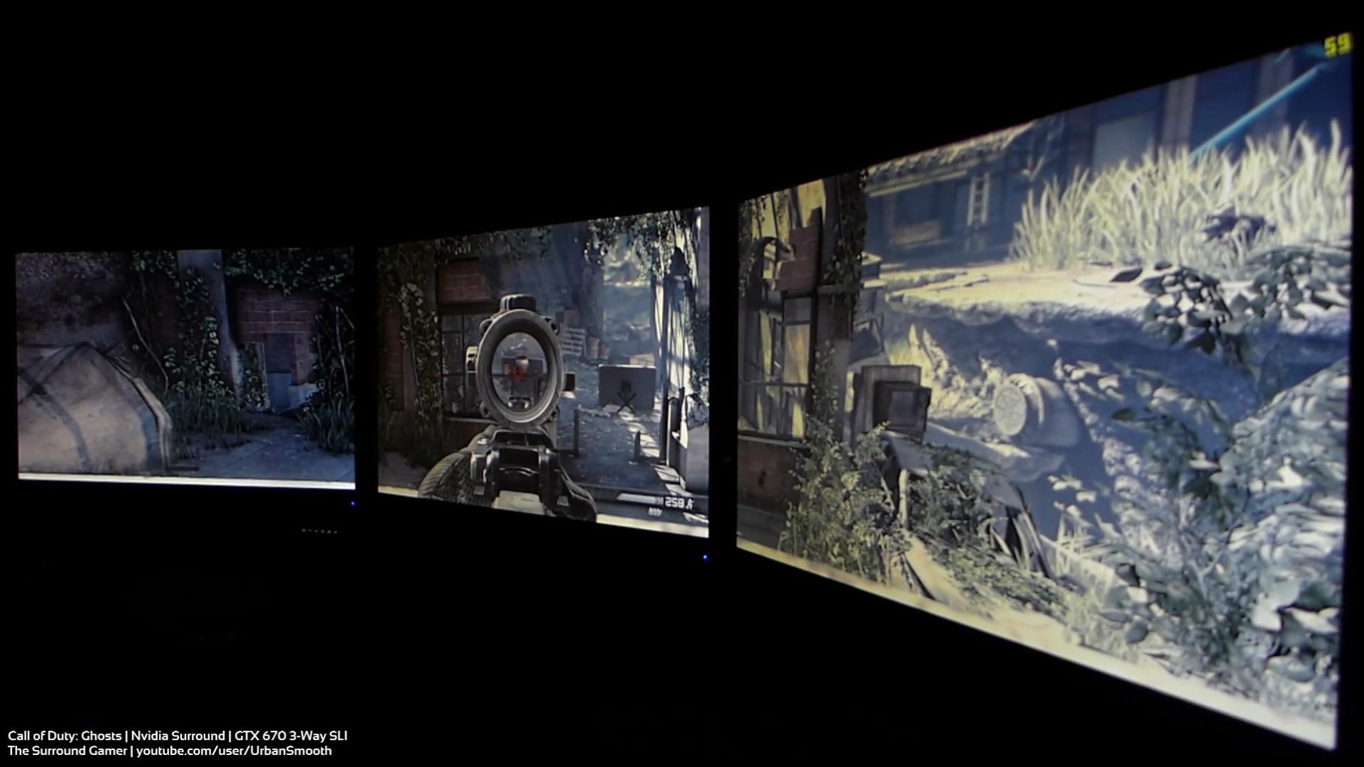4K Eyefinity Nvidia Surround Showcase 1920x1080