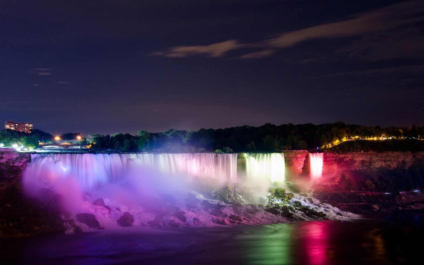 Niagara Waterfalls Wallpaper Backgrounds 1680x1050