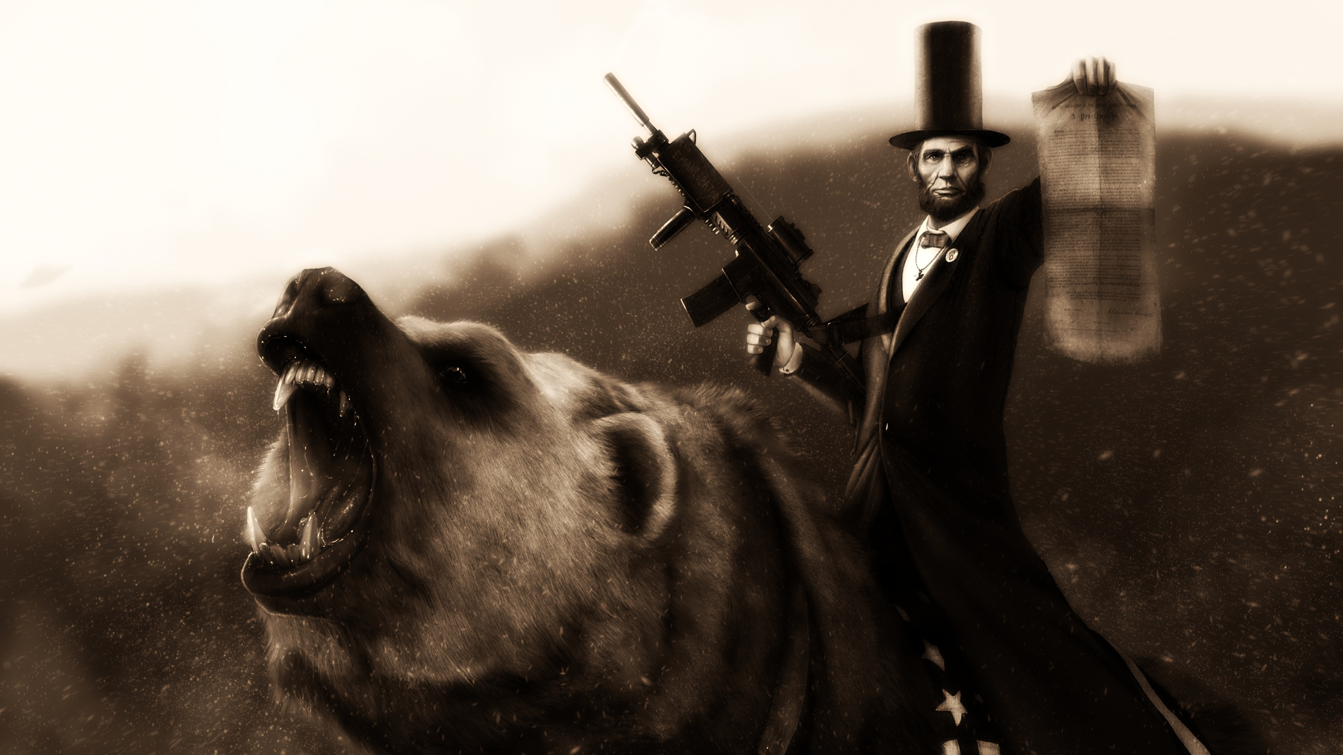 Download Wallpapers Download 1920x1080 abraham lincoln 1920x1080