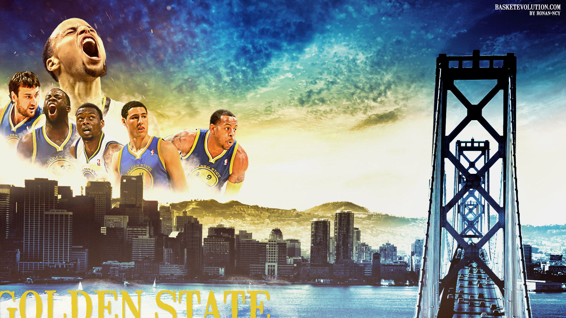 Golden State Warriors 2014 2015 Wallpaper   Basketball Wallpapers 1920x1080
