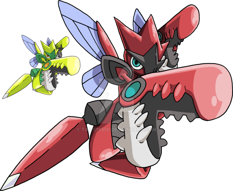 Free Download 212 Mega Scizor By Tails19950 987x809 For