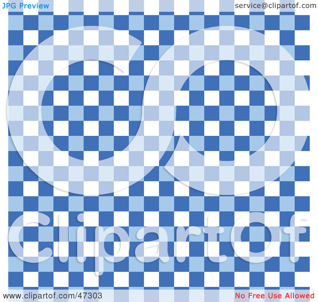 Checkered Wallpaper: Blue And White Checkered Wallpaper