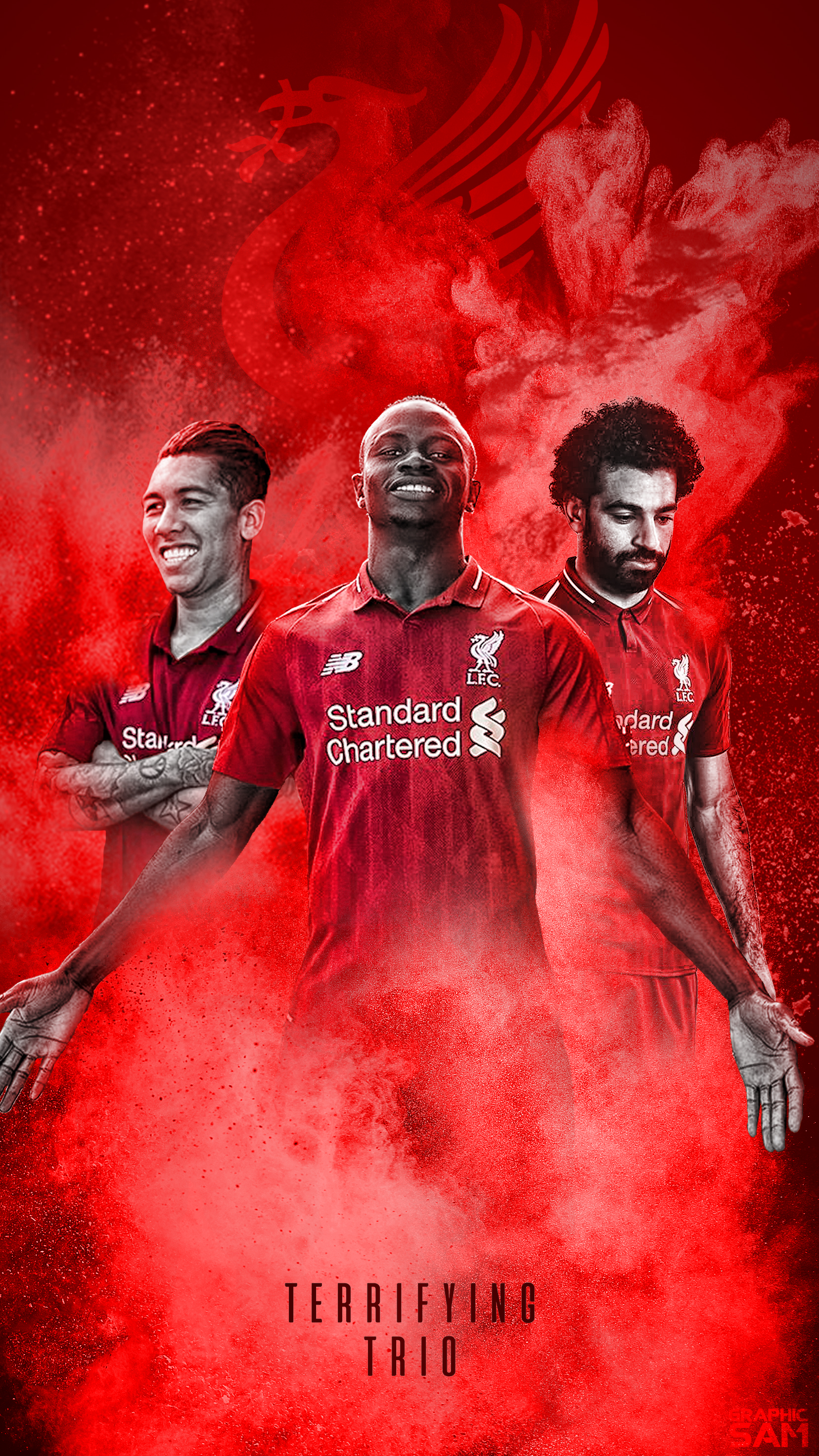 Liverpool Phone Wallpaper 20182019 by GraphicSamHD 1656x2944