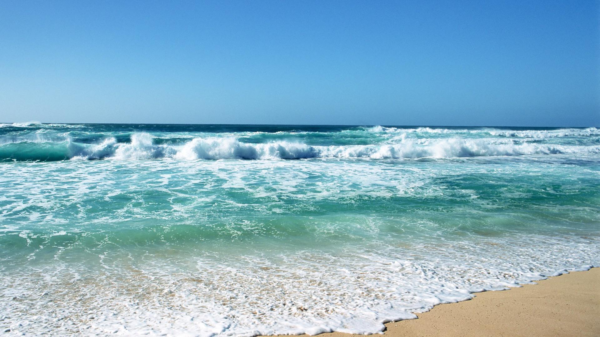 backgrounds beautiful sea beach desktop background stormy blue 1920x1080