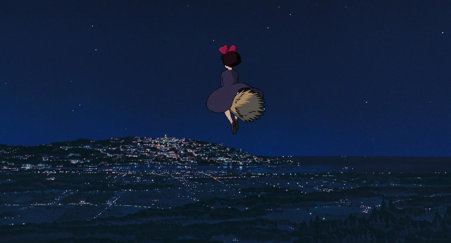 Minimalist Studio Ghibli Desktop Wallpaper Hd Gambarku
