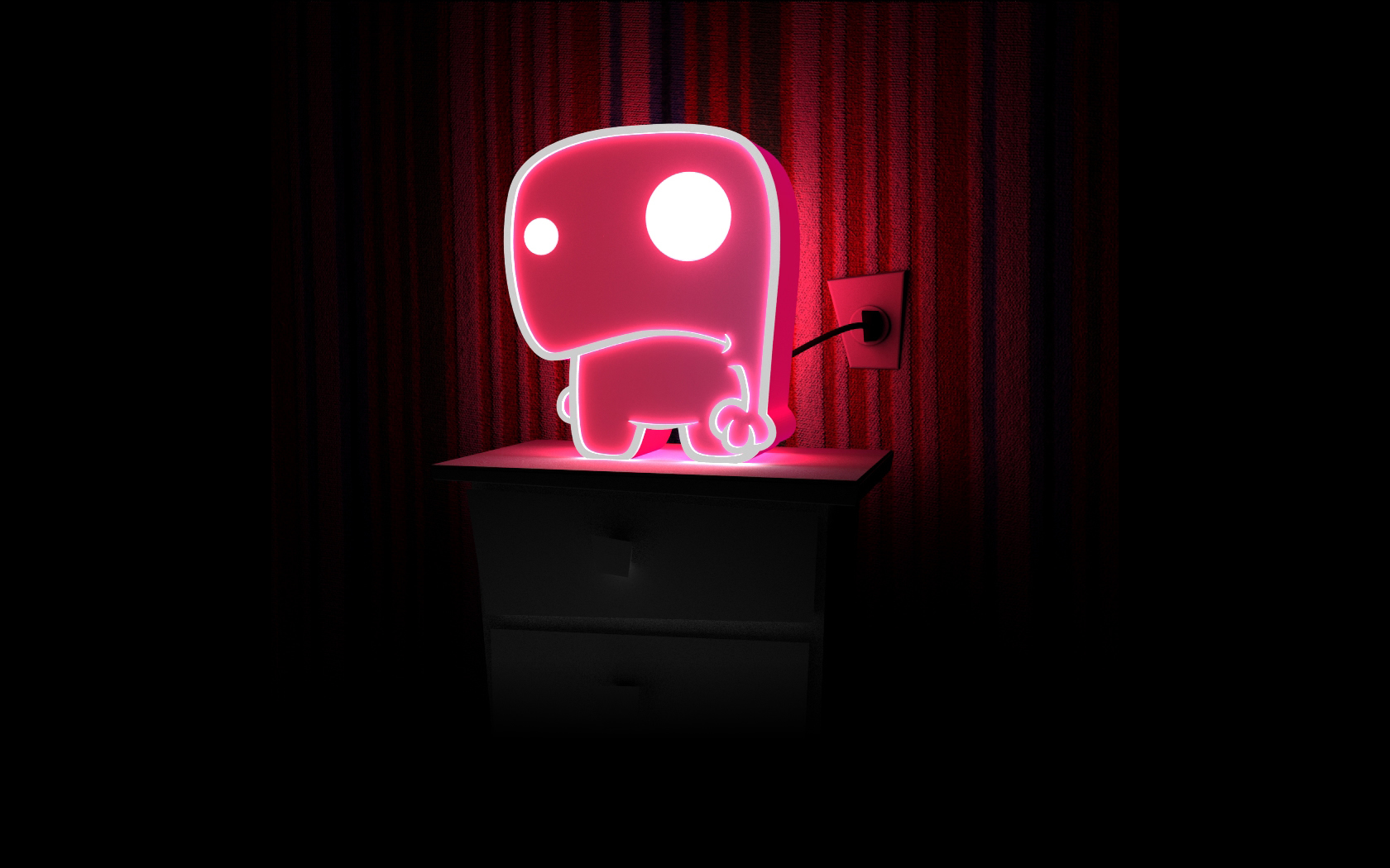 Category Mac Wallpapers Monster Wallpapers Neon 1680x1050