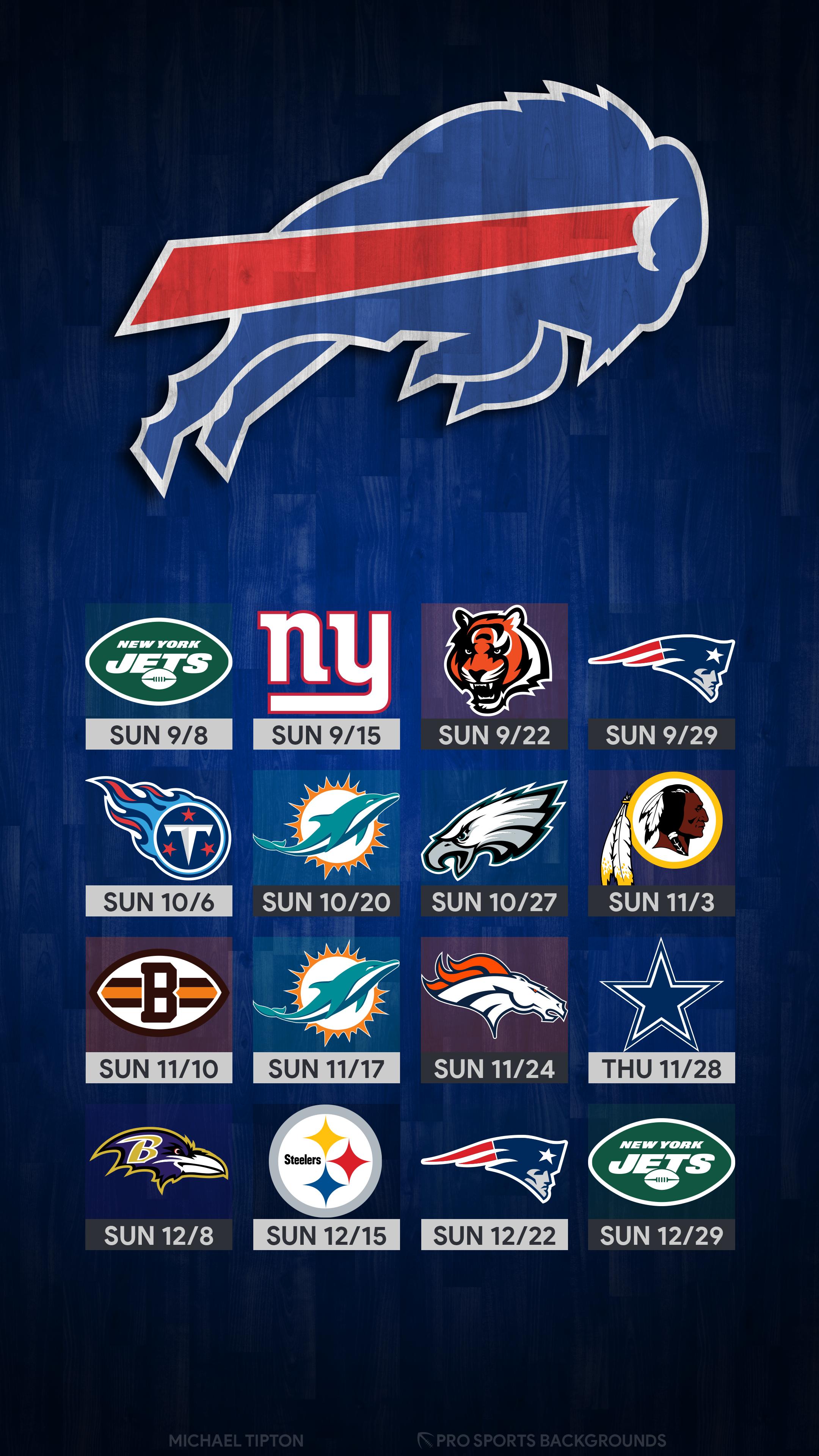 2019 Buffalo Bills Wallpapers Pro Sports Backgrounds 2160x3840