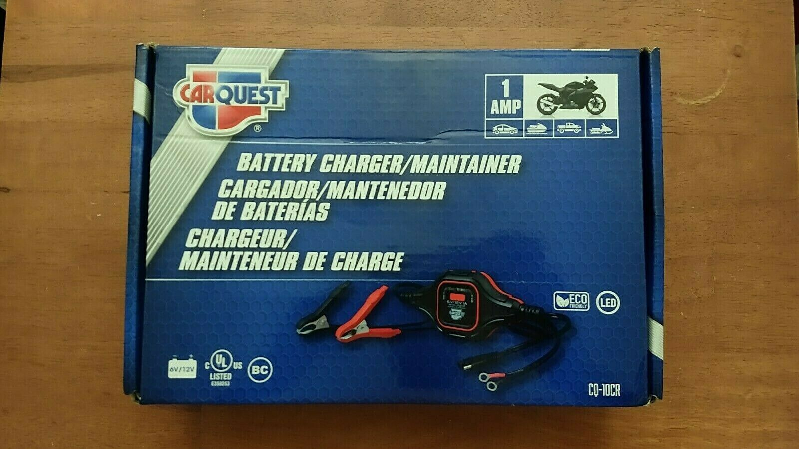 CARQUEST 75 Amp Battery Maintainer Cq 075cr 9a for sale online eBay 1600x900