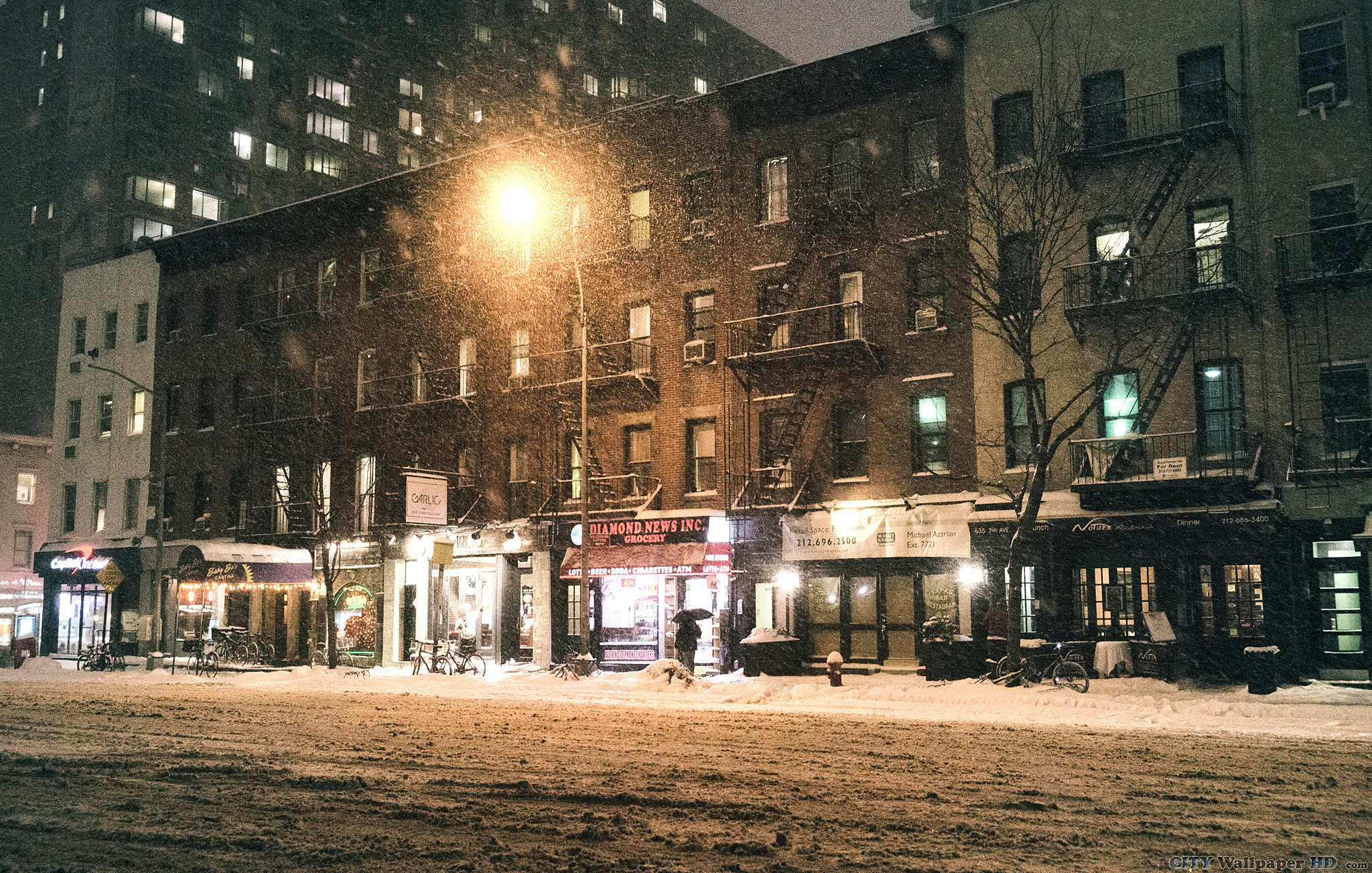 New York winter wallpaper Watch HD pictures New York USA 2048x1303