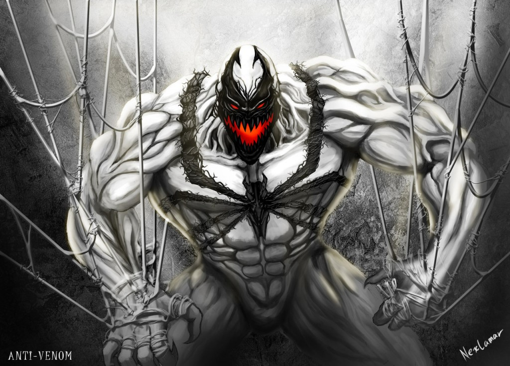 Anti Venom Hd Wallpaper 1024x734
