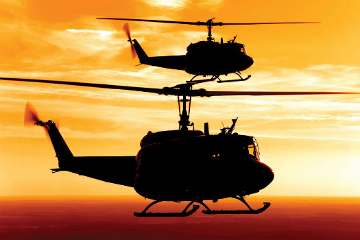 The Vietnam era Huey refuses to disappear into the sunset continuing 525x350