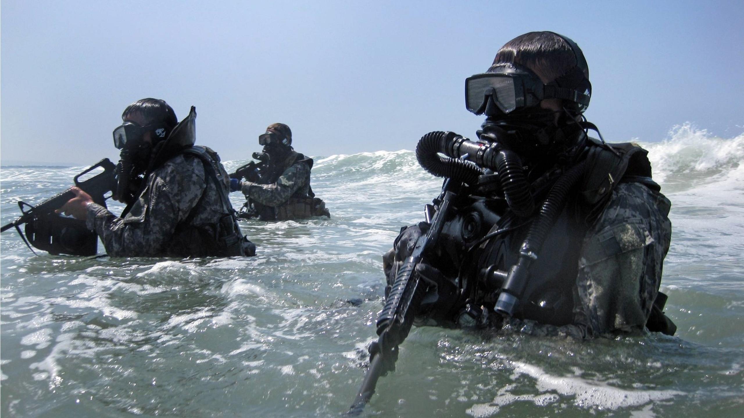 Navy Seals Wallpaper for Download 2560x1440