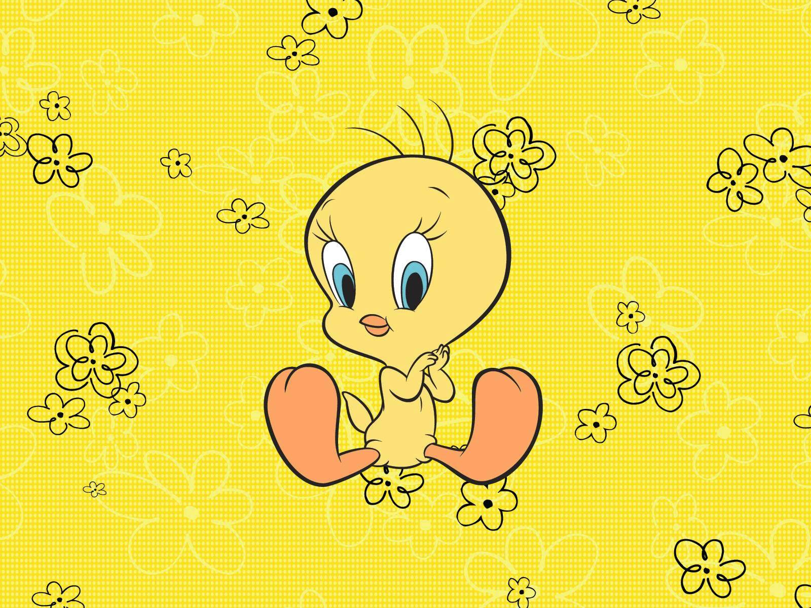 Baby tweety bird wallpaper