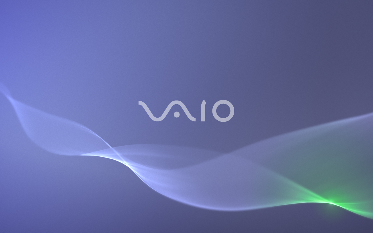Sony Vaio Laptop Wallpaper Blue by Resolution 1280x800